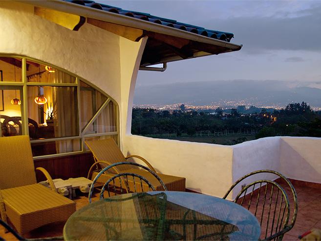family suite at Finca Rosa Blanca