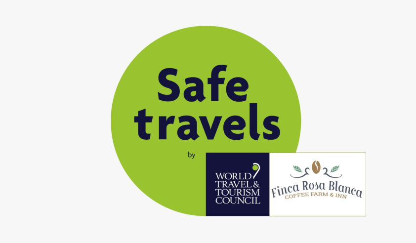 Safe travels logo website