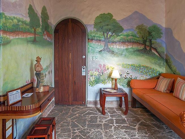El Valle Junior Suite for families at Finca Rosa Blanca