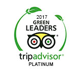2017 Green Leaders. Trip Advisor Platinum